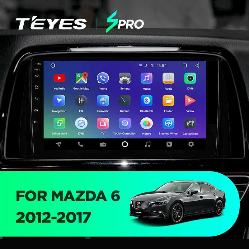 TEYES SPRO 車ラジオマルチメディアなし 2 din android ビデオプレーヤーナビゲーションの Gps マツダ 6 3 超アテンザ 3 2012 2013 2014-2017