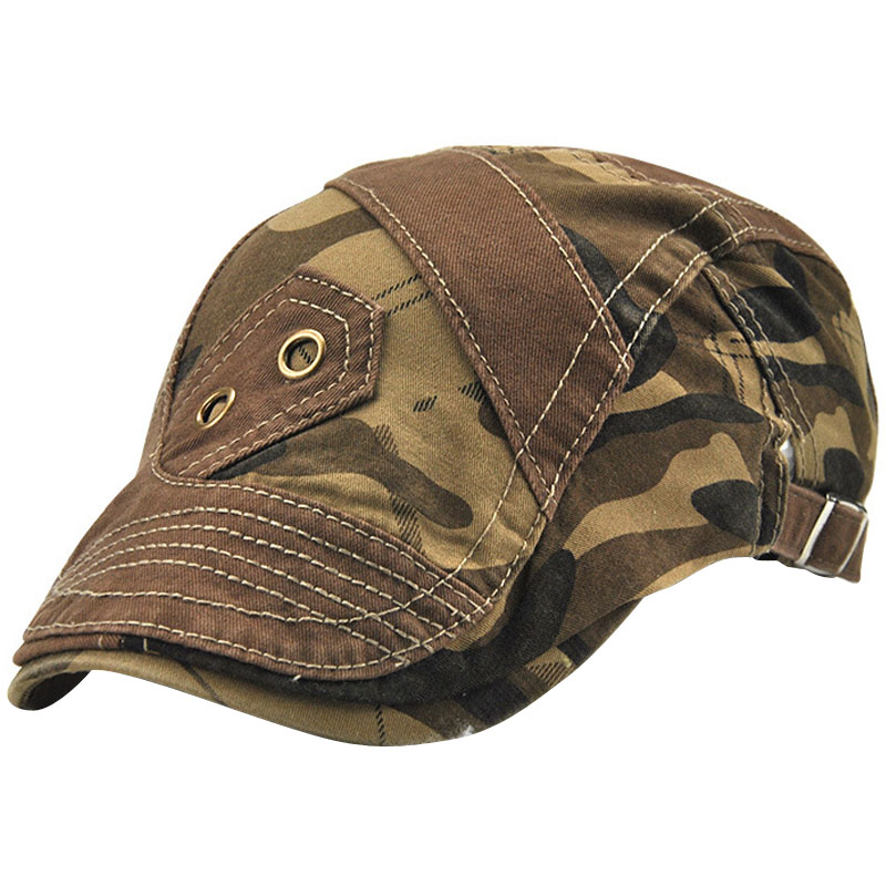 JAMONT Hats Berets Sun-Hat Newsboy-Caps Flat-Cap Adjustable Cotton Women Outdoor Boina