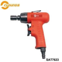 Sat7623 ferramentas pneumáticas de alta qualidade pneumática chave de fenda ar industrial 6mm pneumática chave de fenda ar