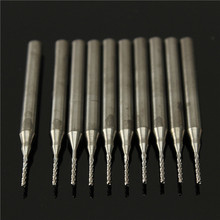 Drill Woodworking Sale Brocas Furadeira Power Tool 2 Sets/lot _ 10pcs 3.175mm Tungsten Steel Milling Cutter Bits End Mills