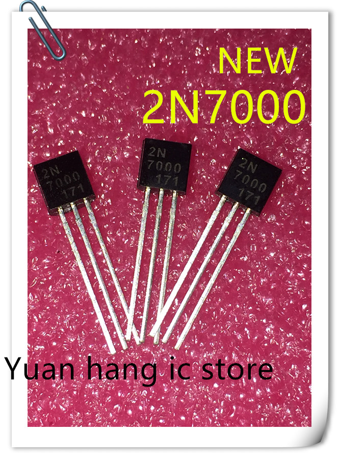 Free Shipping 50pcs/lot 2N7000 7000 TO-92 In-line transistor / small power triodeFree Shipping 50pcs/lot 2N7000 7000 TO-92 In-line transistor / small power triode