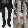 2017 fashion jean represent black/white rock moto mens designer clothes fashion distressed ripped skinny denim biker jeans men
