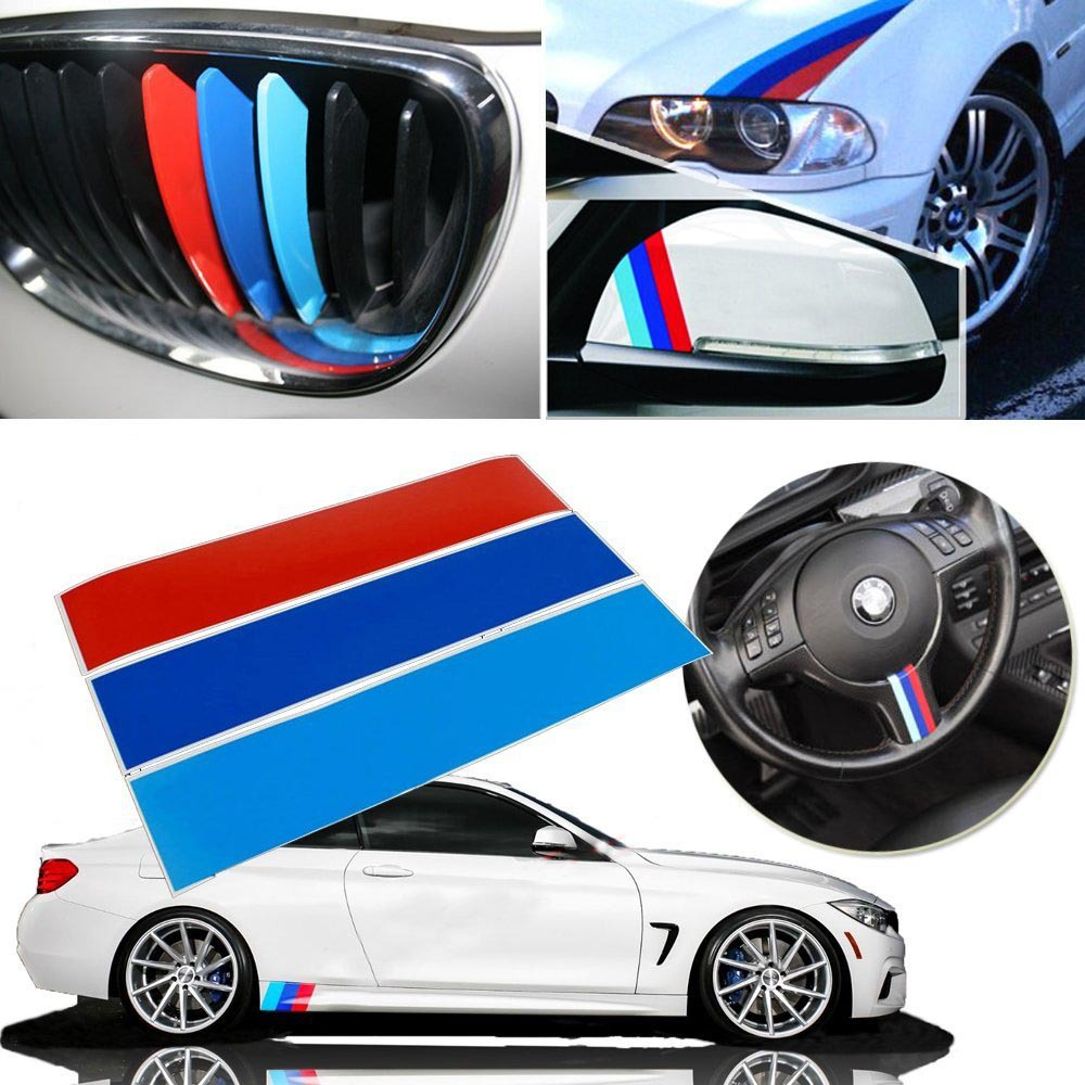 Car design sticker stripes - Car Styling 10 M Colored Stripe Reflective Stickers Decals For Bmw Exterior Interior Decoration Grille Fender Hood Side Skirt On Aliexpress Com Alibaba