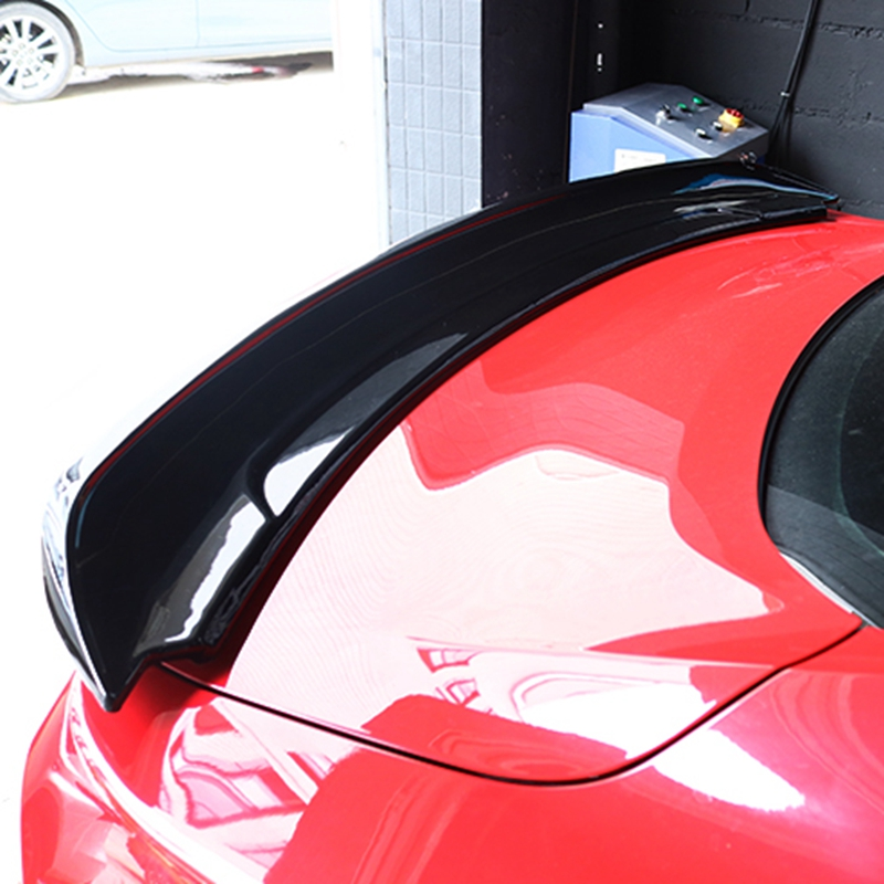 Car Styling ABS Plastic Unpainted Color External Tail Trunk Rear Roof Wing <font><b>Spoiler</b></font> Fit For Ford <font><b>Mustang</b></font> <font><b>2015</b></font> 2016 2017 image