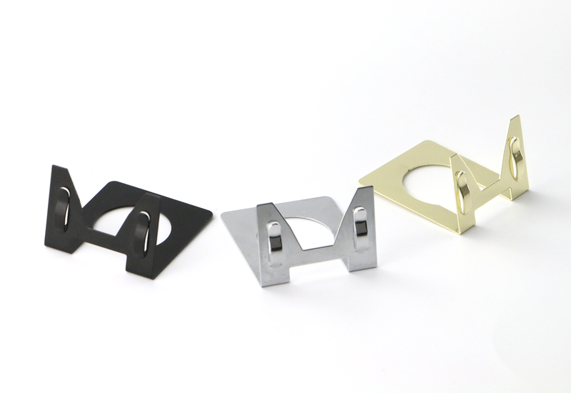 Image 3 - 50 pcs metal label holder desk sign clip table price tag display business name card holder pop photo picture clip-in Furniture Accessories from Furniture