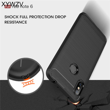 Xiaomi Redmi Note 6 Pro Case Luxury Armor Rubber Silicone Phone For Cover