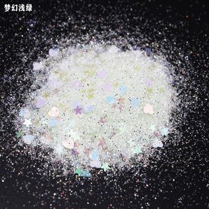 Image 4 - 50/10Grams Glitter Holographic Star Glitter Large Hair Eye Face Body Glitter Makeup