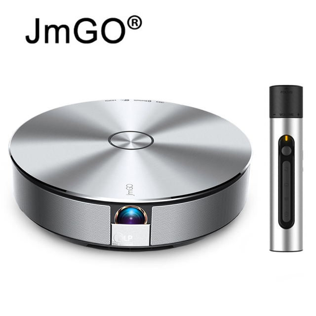 JmGO G1 3D Projector Smart Home Theater  WIFI 1080P 300' Hi-Fi Bluetooth Projector Android 4.3 HDMI Proyector Beamer