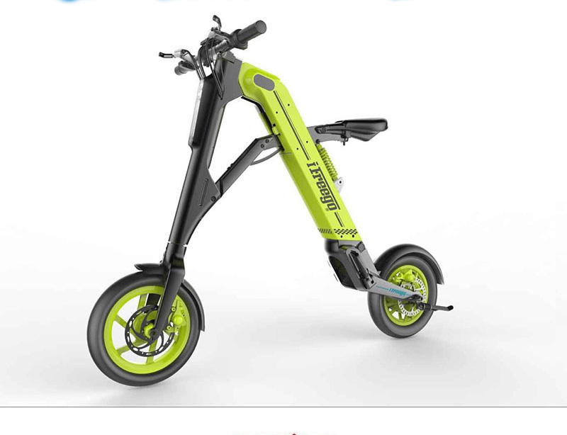 Electric Scooter Folding 12 Inch Elektroroller Two wheeled Helicopter Foldable Electric Scooter LCD/LED Display Lithium Battery