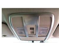 Para Mazda Atenza 6 2013 2015 ABS Frente Chrome + Tampa Da Lâmpada de Luz de Leitura Traseira Matt Interior Molduras Guarnição 2pcs|moulding trim|mould mouldatenza 6 -