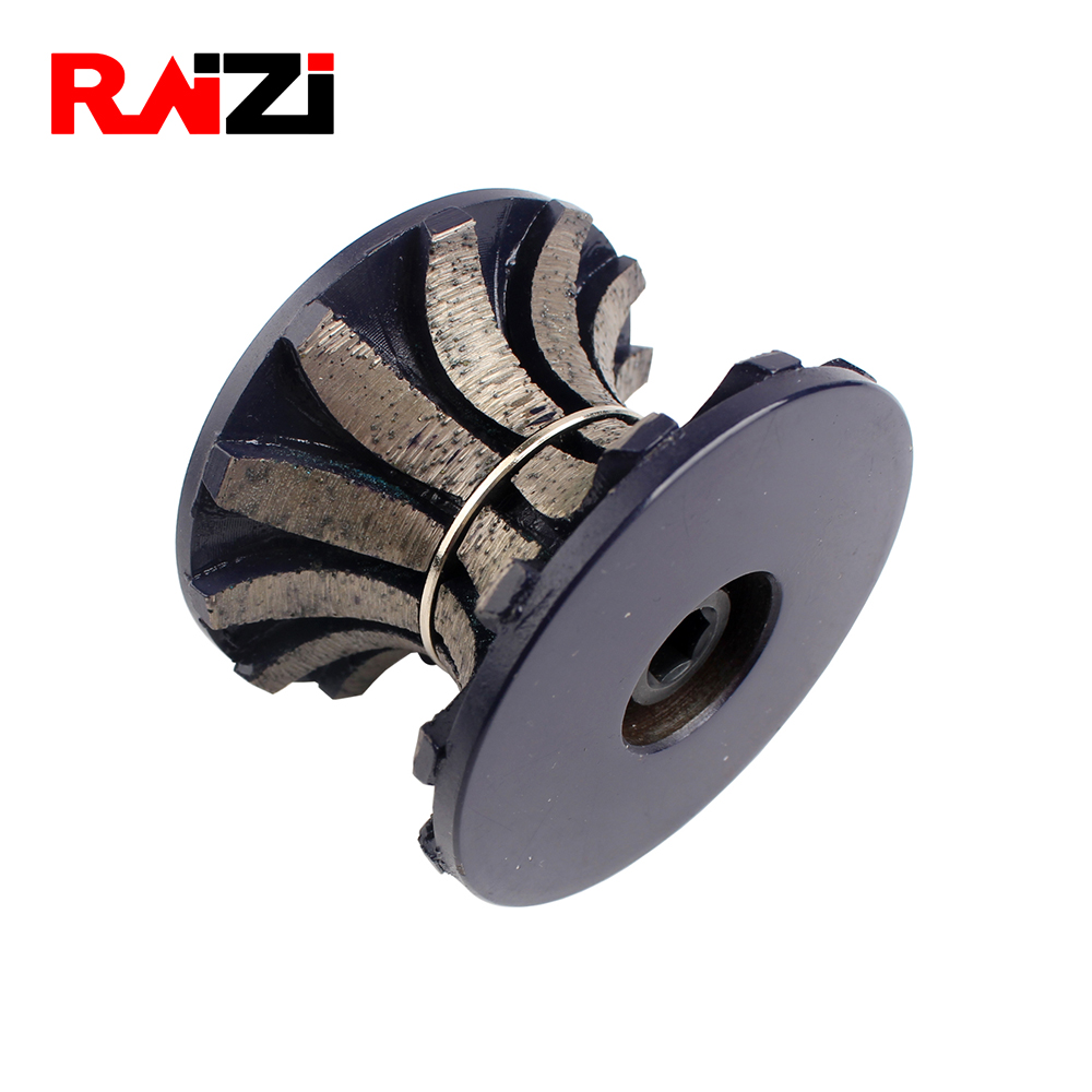 Raizi M10 stone edge shaping Diamond Router Bits For Ogee Full Bullnose 20/30 mm thickness stone edge