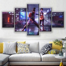 Garena Free Fire Game Poster Artwork Paintings 5 Piece Free Fire Battlegrounds Video Games Poster Wall Art Paintings Free Fire free free fire and water lp