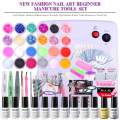 Elite99 Pick 10 Colors UV Gel Nail Polish UV Nail Polish Soak Off + Manicure Tools 36W UV Lamp + Top&Base Coat Tools Sets