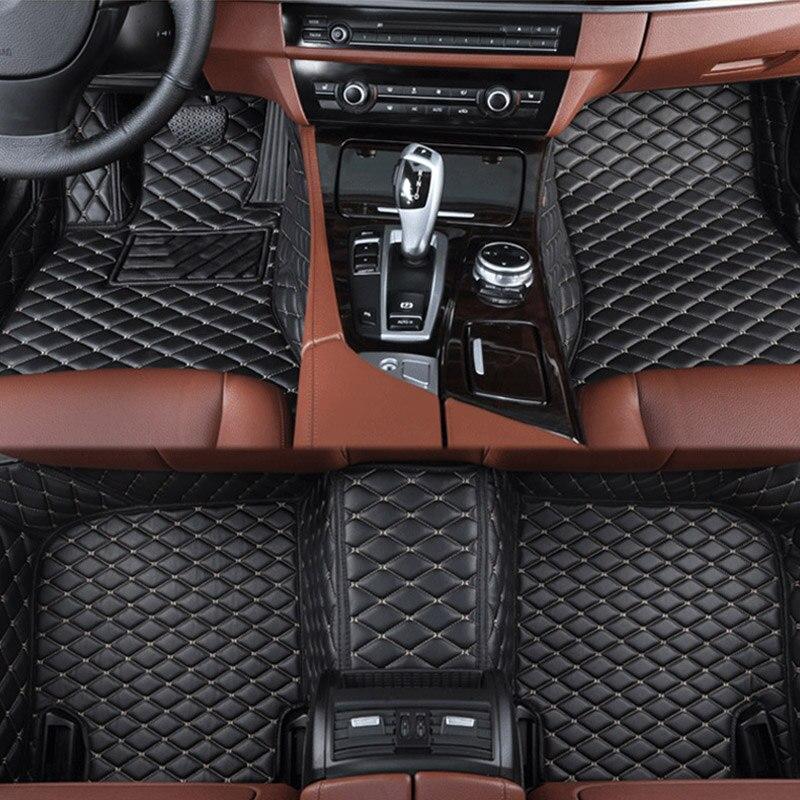 Voiture tapis de sol pour Lexus Tous Les Modèles ES EST LS RX NX GX GTH GS LX voiture style accessoires de voiture personnalisé pied Tapis De Voiture tapis