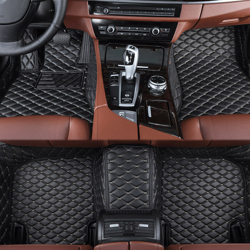 car floor mats for Lexus All Models ES IS LS RX NX GX GTH GS LX car styling car accessories Custom foot Pads Car carpet