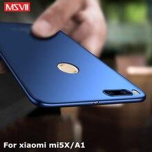 Фотография For xiaomi mi A1 case Original MSVII luxury Silm scrub For xiomi miA1 coque ultra thin PC cover For xiaomi mi5X mi 5X cases