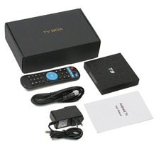 wholesale!Leelbox Android 8.1 TV Box T9 4GB+32GB Rockchip RK3328 1080P H.265 4K Google Player Store Netflix Youtube Media Player цена и фото