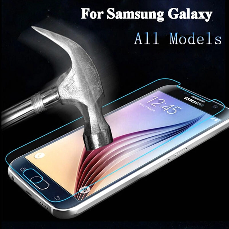 Tempered Glass Screen Protector Film For Samsung Galaxy S6 Core Grand Prime G530 G360 G355H i9082 S7562 A3 A5 J1 J3 J5 2016 Case
