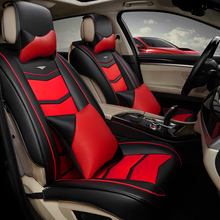 3D Styling Car Seat Cover For Volkswagen Beetle CC Eos Golf Jetta Passat Tiguan Touareg sharan High-fiber Leather Car-Covers