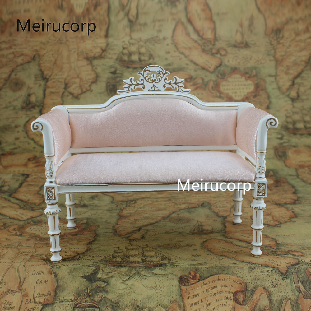 Where To Buy High Quality Furniture: High Quality Doll Furniture 1:6 Scale Handmade Gilt Fabric