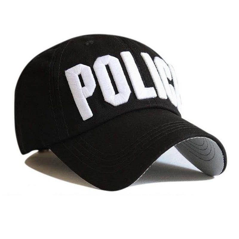 Surat Baseball Topi Leisure Bordir Polisi Bisbol Cap Snapback Topi untuk  Pria dan Wanita Cap Snap Kembali Casquette Kecil di Topi Baseball dari  Aksesoris ... 62700d5a8d
