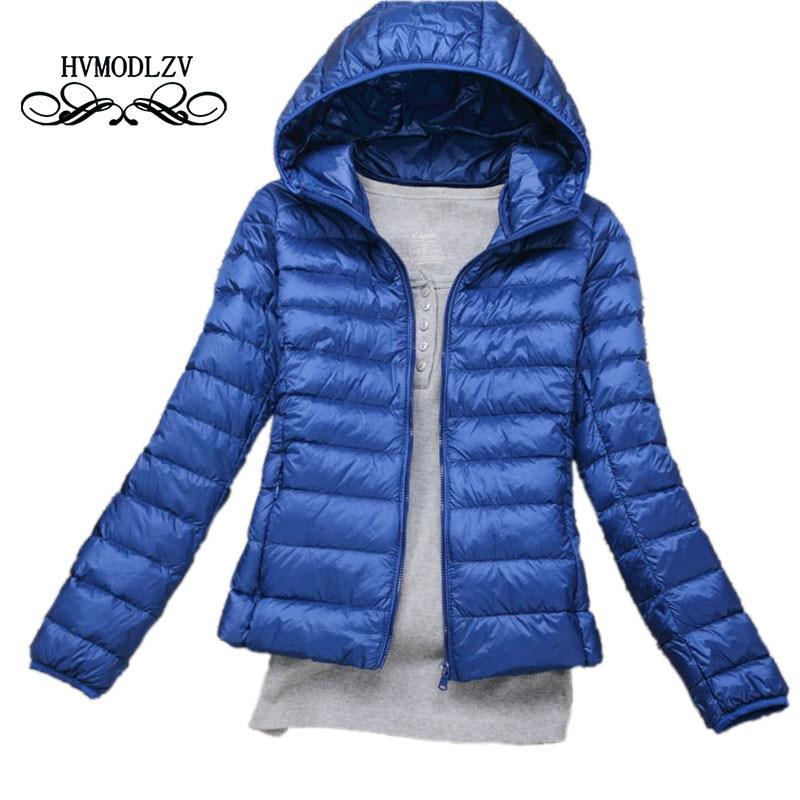 Plus size Autumn Winter Women Thin Jacket Coat 2017 New Fashion Hooded Short Cotton Jacket Women Jaqueta feminina inverno LJ397