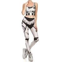 Jogo OW Cosplay Genji Cyborg Ninja Traje Sportwear Calças Justas Mulheres Sexy Top Elástico Leggings Calças Roupa Casual Wear Plus Size