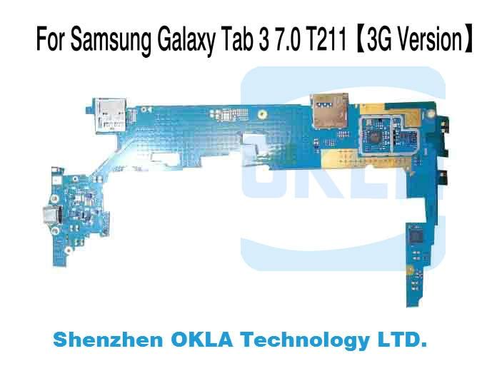 bilder für 1 stücke Für Samsung Galaxy Tab 3 7,0 T210 T211 1G RAM 8G ROM Mainboard Motherboard Logic Board Ersatz von original telefon