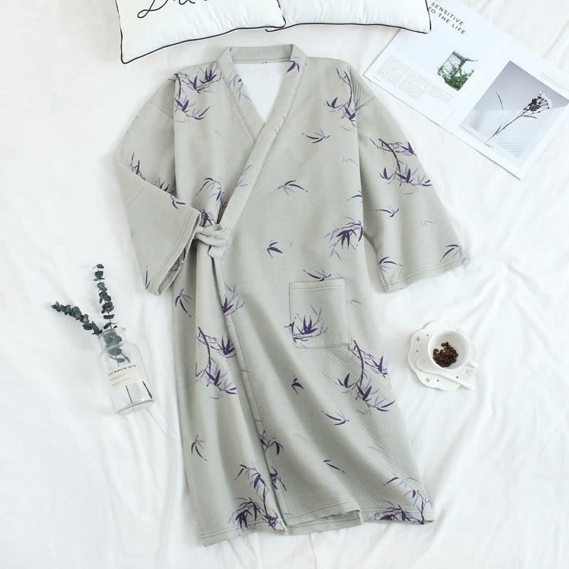 thicken cotton bathrobes winter (3)