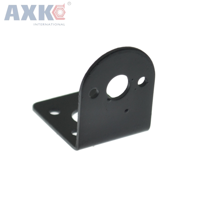 AXK 1PCS 25MM DC Motor Bracket Holder Fixed Mounting Fram Seat For 370 DC Motor Holder And Smart Car Robot Accessories
