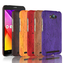 SuliCase Leather Case for Asus Zenfone Max ZC550KL Wood Grain Case Cover for Asus Zenfone Max ZC550KL 5.5