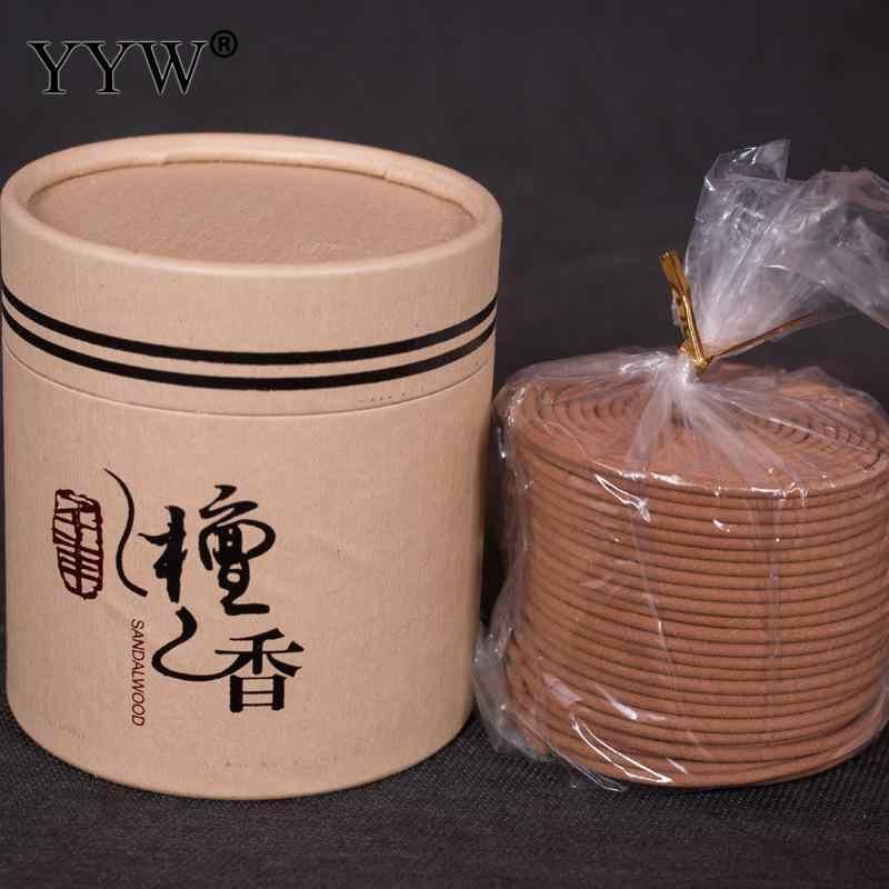 48pcs//box Coils Natural Sandalwood Incense Home Aromatherapy Maker Spice