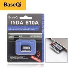 BaseQi חכם כרטיס קורא כרטיס pcmcia מיקרו SD כרטיס מתאם עבור Asus ZenBook Flip ux360CA קומפקטי פלאש מתאם מרצדס בנץ xqd