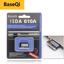 BaseQi スマートカードリーダーカード pcmcia マイクロ SD カードアダプタ asus ZenBook フリップ ux360CA コンパクトフラッシュアダプタメルセデスベンツ xqd