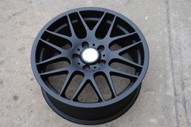 lg black bmw style machined rims p wheel