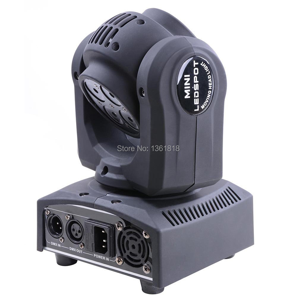 Moving Head Light 5x10W RGBW Rotation 4in1 Double Face Music KTV Bar Outdoor Disco Party