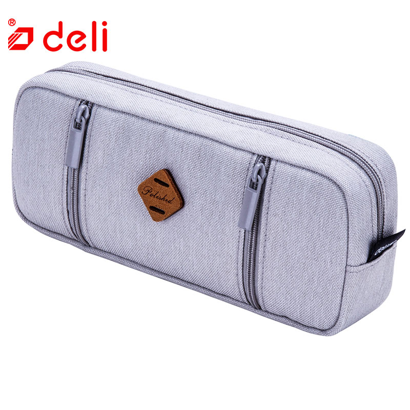 Deli Cute Kawaii Fabric Pencil Bag Fashion Pencil Holder Storage Case Student Pencil Case Pen Box Stationery School Supplies mst 532141 cmx 1 10 4wd fj40 kit off road car climbing simulation model car