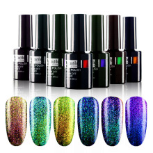 1pc Chameleon Color Mengubah Nail Polish Gel Nail Art Varnish 10ml