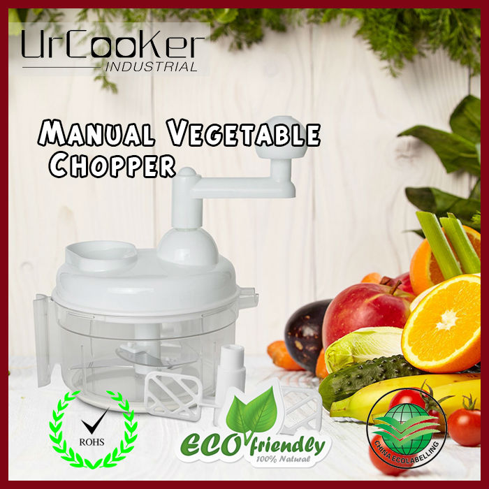 1Pcs Manual Vegetable Chopper Multifunctional hand shredder Stirrer Triple Kitchen Tools