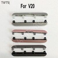 TWTR Original New Top Bottom Cover Cap Lid Set For LG V20 All Model Bezel Front