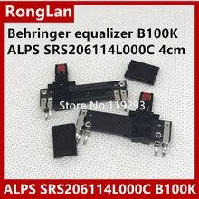 [BELLA]Behringer equalizer ALPS RS206114L000C  4cm/40MM Slide Potentiometer B100K-11MM with light midpoint–50PCS/LOT