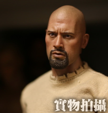 Brand New 1/6 Scale Fast & Furious 7 Luke Hobbs (Dwayne Johnson) Head Sculpt Accessories For 12'' Action Figure Model Toy brand new 1 6 scale fast