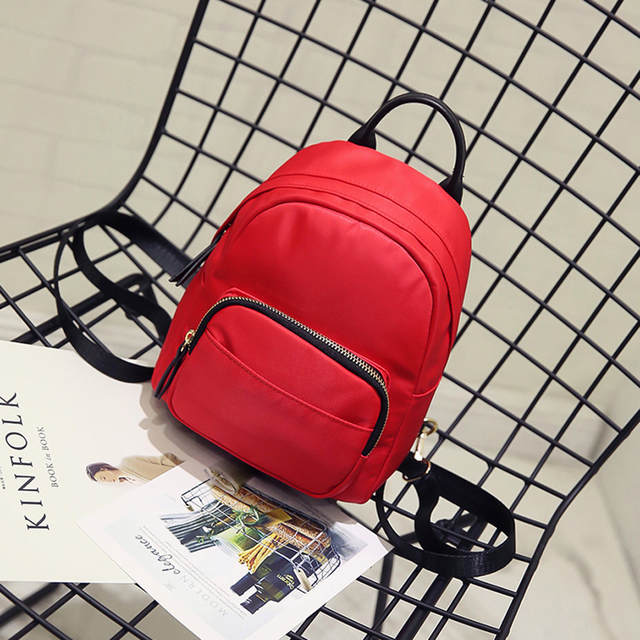 dac420c6ae53 Fashion Multifunction Nylon Backpack Shoulder Bag Leisure Women Backpack  Mini Backpack Rucksack School Bags for Teenager