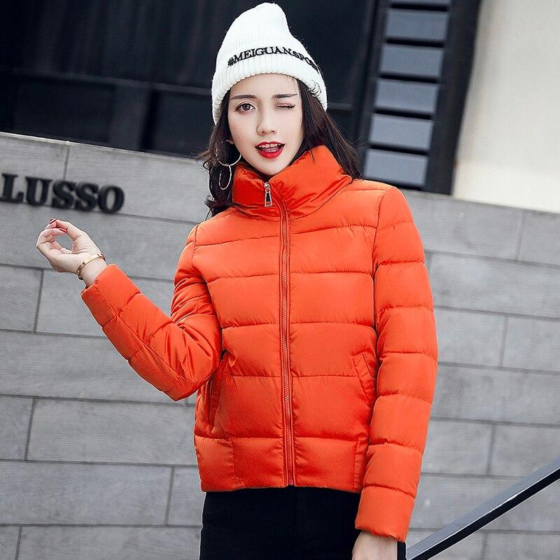 font b Women b font Winter Coats 2017 Fashion Solid Short Outerwear font b Womens