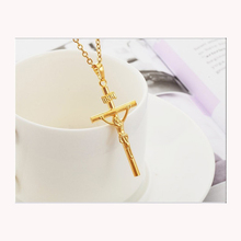Jupiter Upstream with Jesus Christ Cross Bone Necklace Christian Jewelry Hanger Wholesale