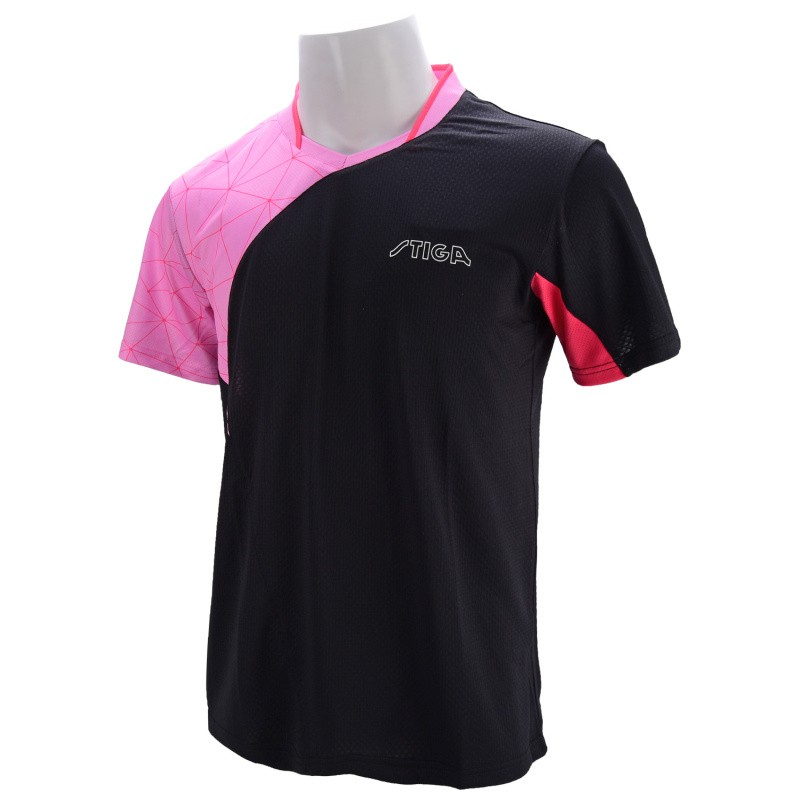 New Arrival Stiga Table Tennis Shirt Sport Jersey Badminton Clothes  Ca-431(China)