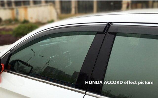 ACCESSORIES FIT FOR HONDA ACCORD 2014 2015 2016 SIDE WINDOW RAIN ...