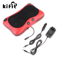KIFIT Comfortable Relax Massage Pillow Electric Heat Neck Back Shoulder Cushion Car And Home Health Care