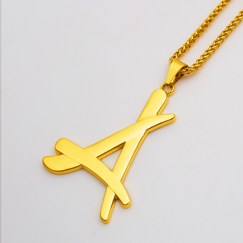 Trendy golden iced out letter a pendant hip hop franco link chain trendy golden iced out letter a pendant hip hop franco link chain necklaces mens jewelry in pendant necklaces from jewelry accessories on aliexpress audiocablefo light catalogue