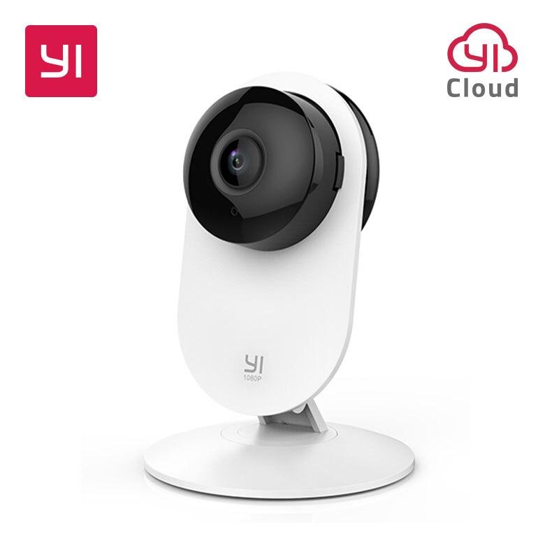 YI 1080p caméra d'intérieur sans fil IP bureau/bébé/Pet moniteur système de Surveillance de sécurité EU édition Cloud Service disponible